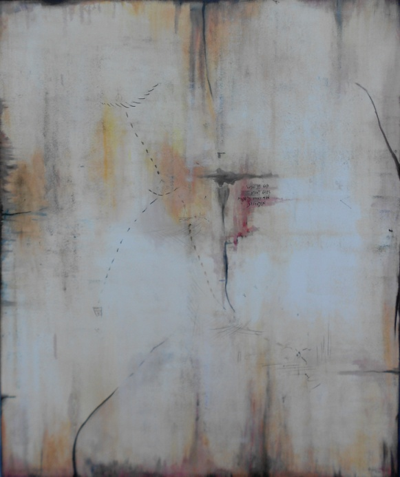 F.I. 120 x 100 Öl auf Leinen
